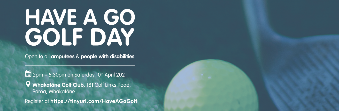 2021 Have A Go Golf Day Facebook Banner